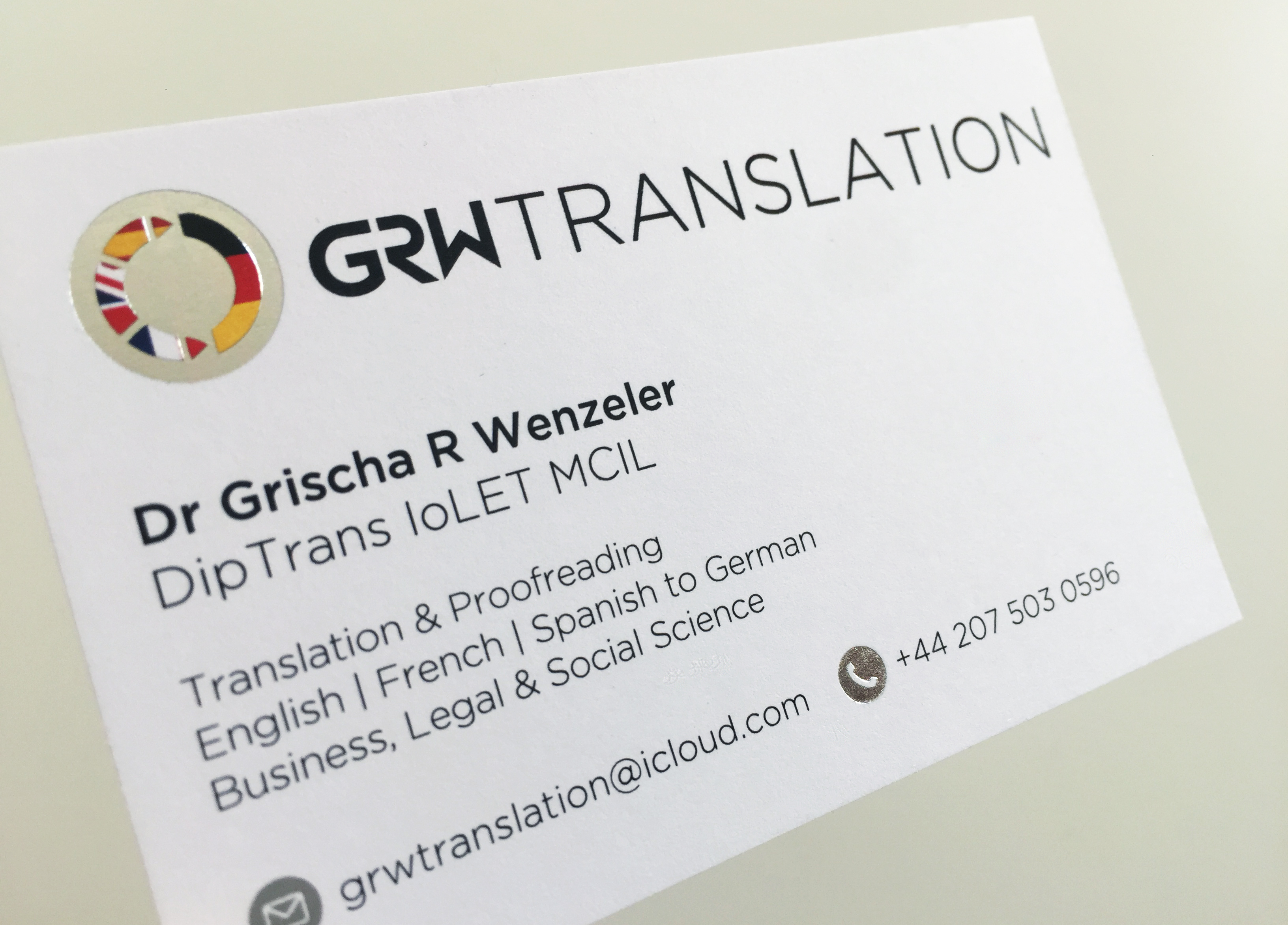 Charming Translator Business Cards Gallery - Business Card Ideas ...